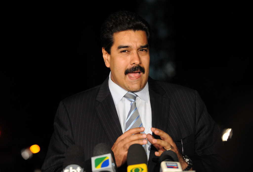 Discontent has been directed towards President Nicolas Maduro, who inherited the problems of the Chávez reign, for his passiveness in addressing grievances. Maduro continues to blame Venezuela's problems on the United States as part of its plot to topple the regime.  July 28, 2010 (Agencia Brasil / Wikipedia Commons)