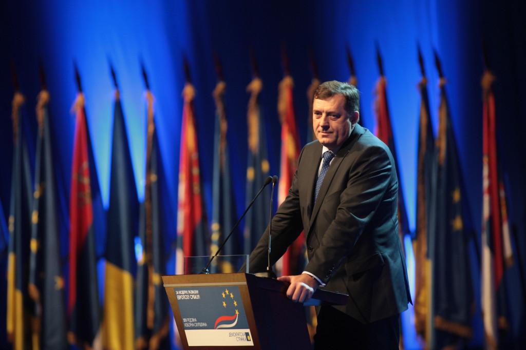 Milorad Dodik, the president of Republika Srpska, has a radical agenda to separate Republika Srpska from Bosnia and Herzegovina. December 18, 2010. (BokicaK/Wikimedia Commons)