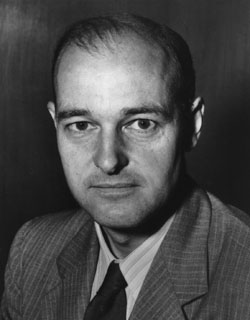 George F. Kennan, father of Containment, which was the grand strategy that enabled the United States to defeat the Soviet Union without sacrificing 'the American way of life'. August 3, 2005, (Wikimedia Commons, Raul654)