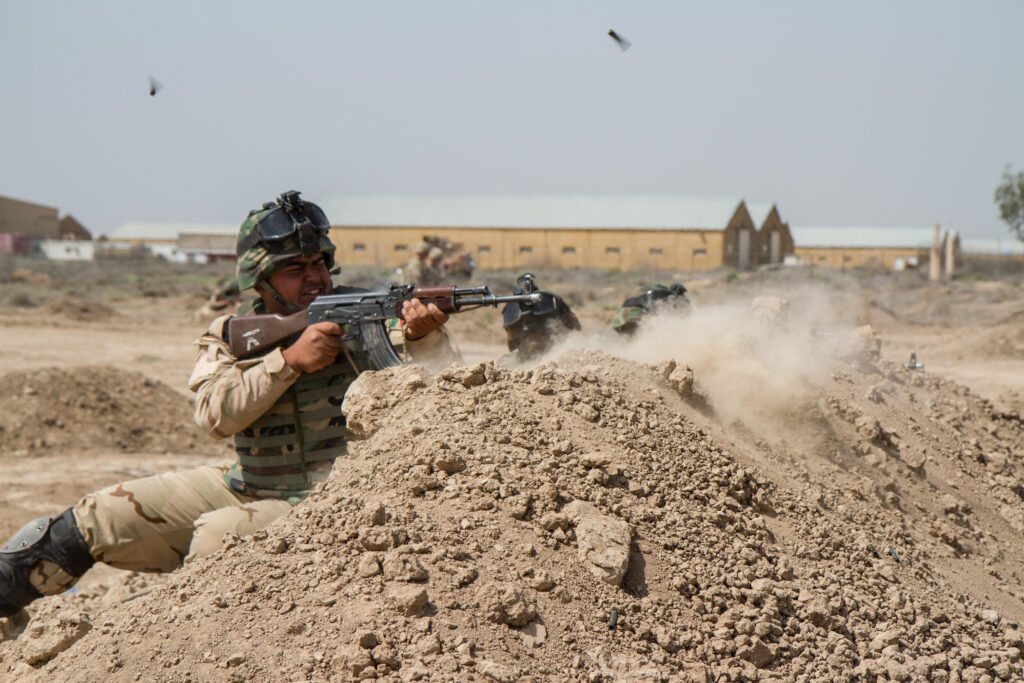 US Soldiers prepare Iraqi army for sustained success