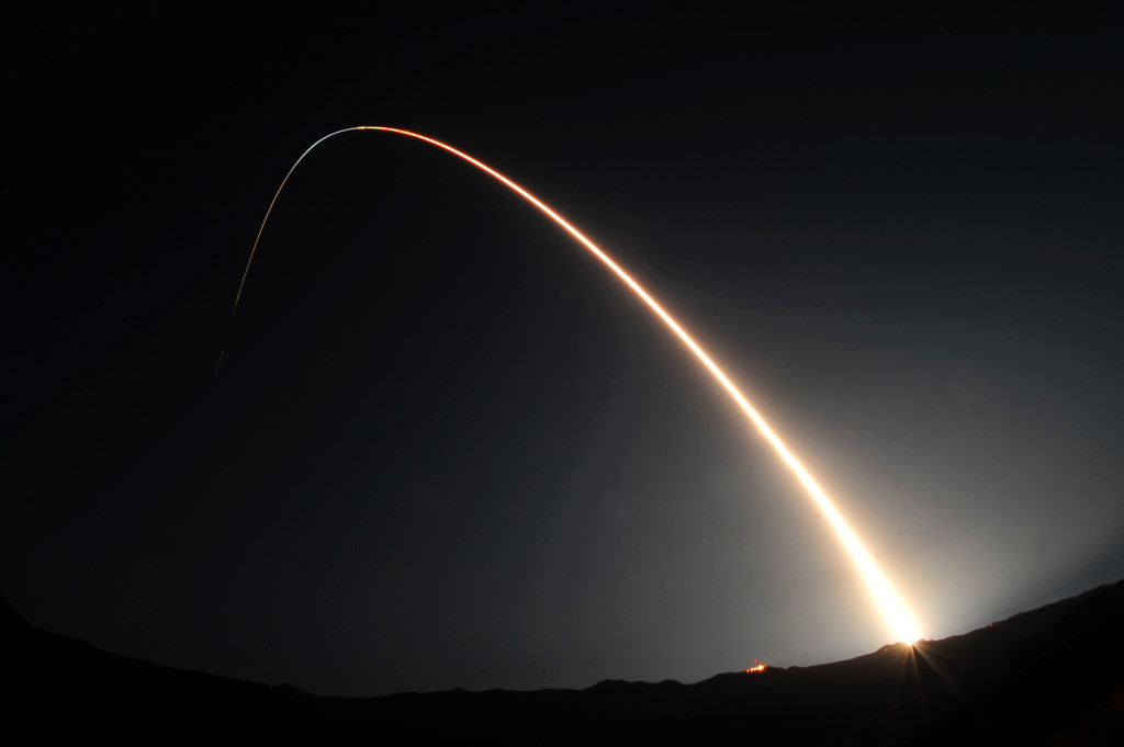 A Minotaur IV being launched from Vandenberg Air Force Base. 21st century rocketry and missile defense covers all three theaters – geographic space, cyber space and outer space – and highlights the complexity of the strategic environment we now inhabit. (DVIDSHUB/Flickr Creative Commons)