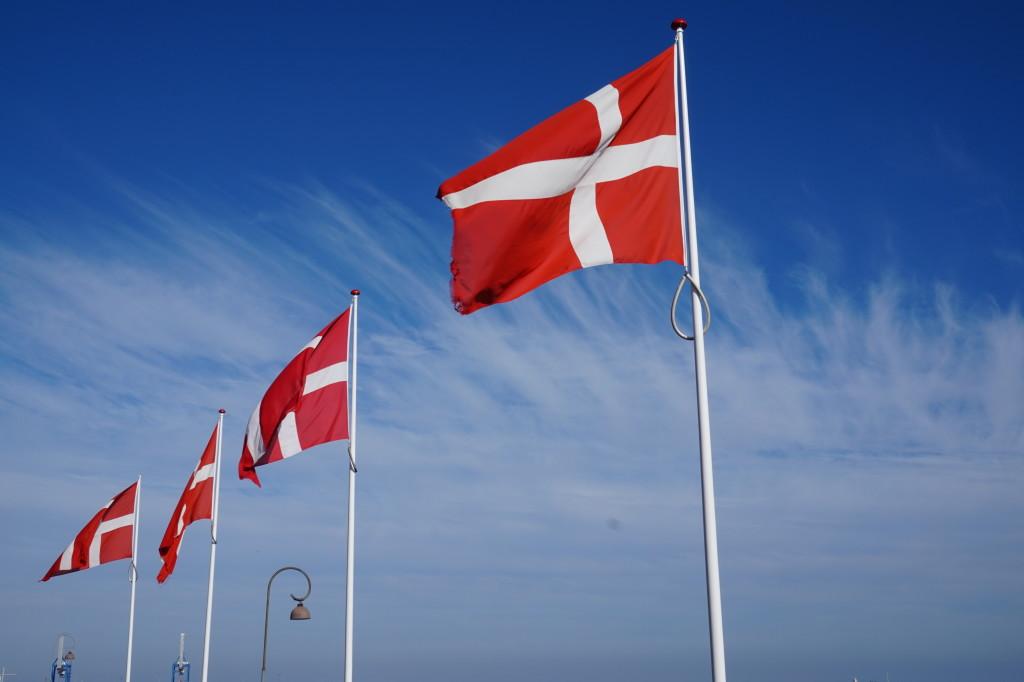 Danish flags. October 3, 2015. (Matt Kieffer/Creative Commons).