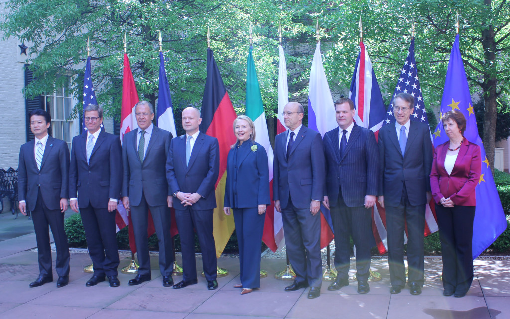 Hillary Clinton, pictured here at the G8 Foreign Ministers Meeting in 2012, has the experience to craft good foreign policy; but are her ideas worthy of the highest office? (Flickr CC/Italian Embassy).