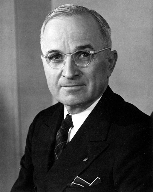 President Harry S. Truman, Democratic Internationalist. (Matthew Yglesias/Flickr CC).