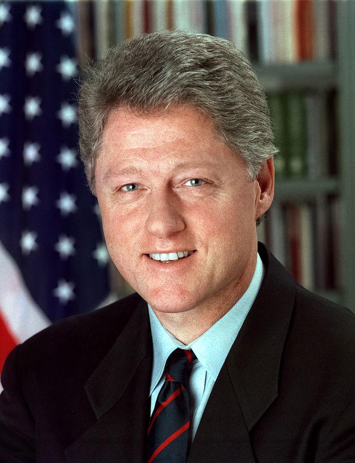 President Bill Clinton. (Bob McNeely/Wikimedia).