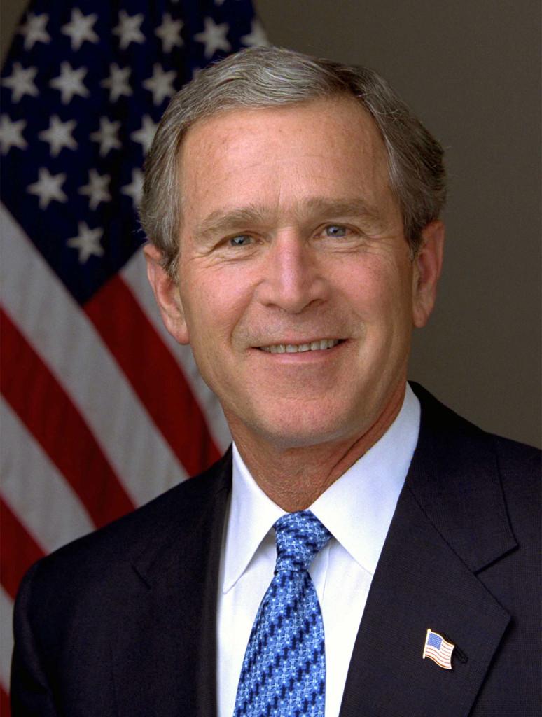 President George W. Bush. (Eric Draper/Wikimedia).