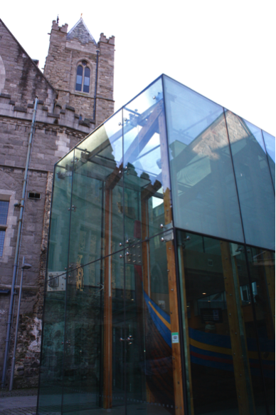 Dublina: Viking museum next to St. Patrick's Cathedral. April 2016. (Photo courtesy of the author.)