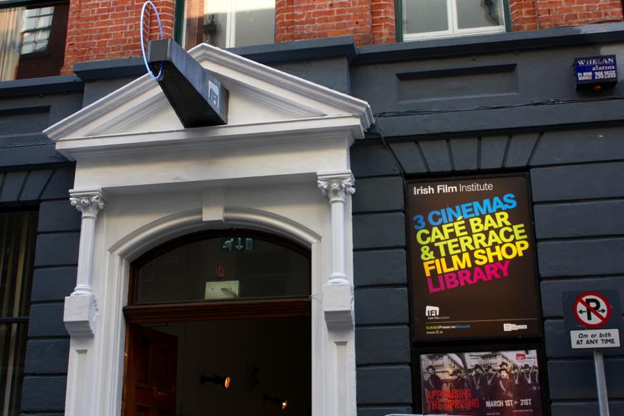 Irish Film Institute: Film center in Temple Bar. April 2016. (Photo courtesy of the author.)