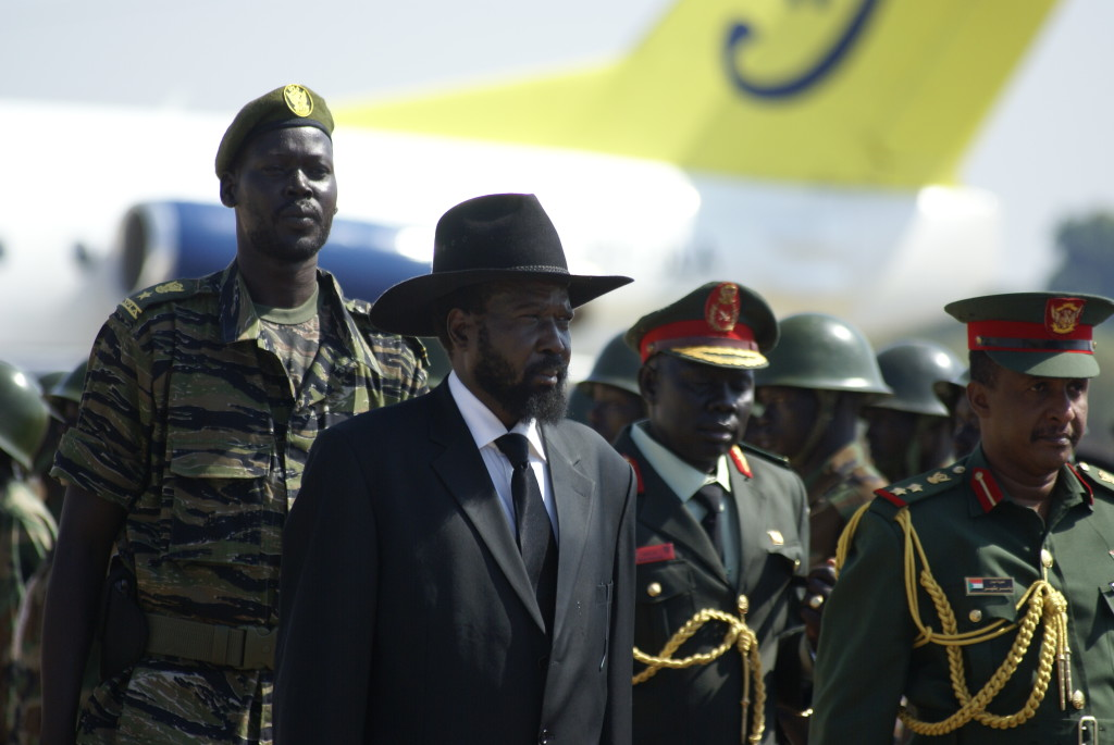President Salva Kiir and Vice President Riek Machar both must step down.  (Wikimedia Commons)