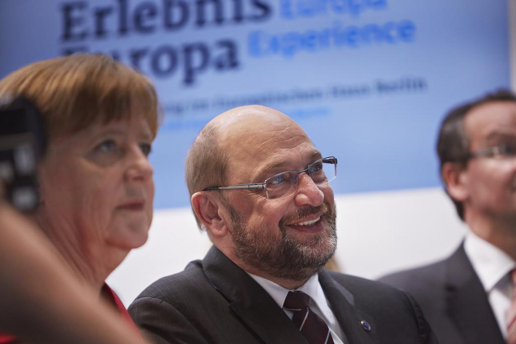 Martin Schulz eyes the German Chancellor's position as the de facto leader of the EU (Erlebnis Europa / Flickr)