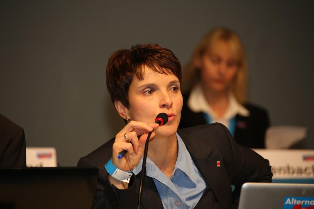 Frauke Petry Wikimedia Commons)