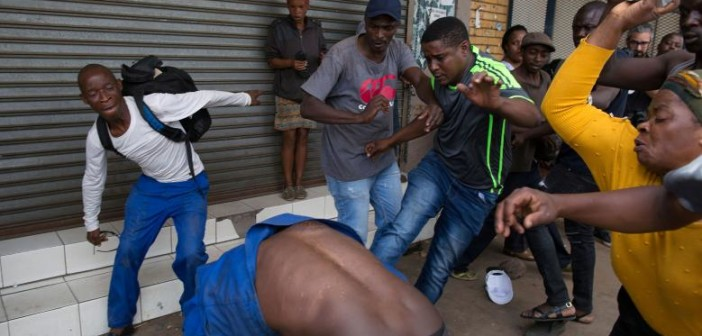 """Xenophobia in """"The Rainbow Nation"""": Economic and Political Failure in South Africa"""