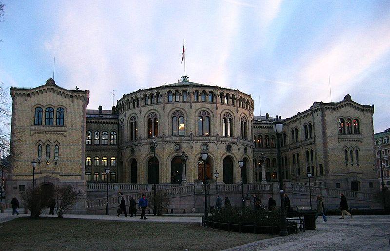 The Norwegian Parliament (Wikimedia Commons)