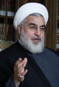 Hassan Rouhani. April 7, 2013 (Mojtaba Salimi/Wikimedia Commons)