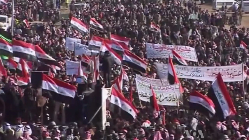 Divisive sectarian policies consumed Iraq. Any long-term solution would require short-term stability, which in turn would require al-Maliki to remain in power for the time being. January 14, 2013. (Voice of America/Wikipedia Commons)