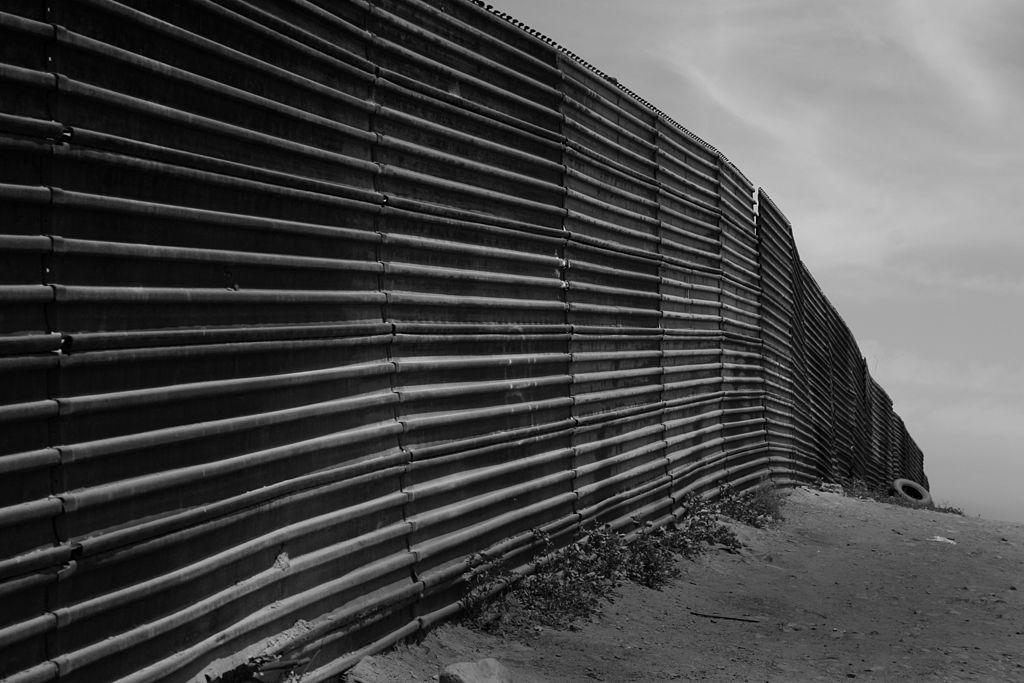 The US-Mexico border at Tijuana and California. (Thomas Castelazo/ Wikimedia Commons)