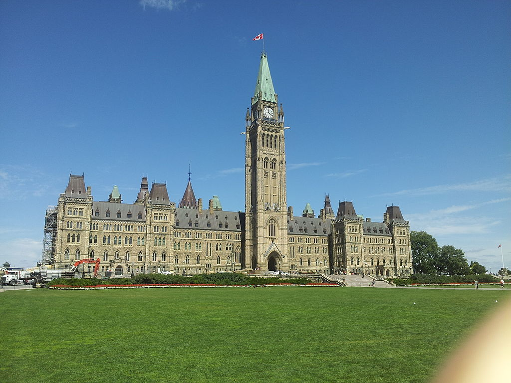 The Canadian Parliament Building in Ottawa, the sight of the October 22nd shooting.  (Rleir/Wikimedia Commons)