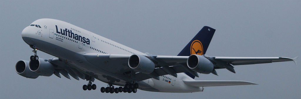 The Airbus A380, the world's largest airliner. 2010. (Maximilian Narr/Wikimedia Commons)