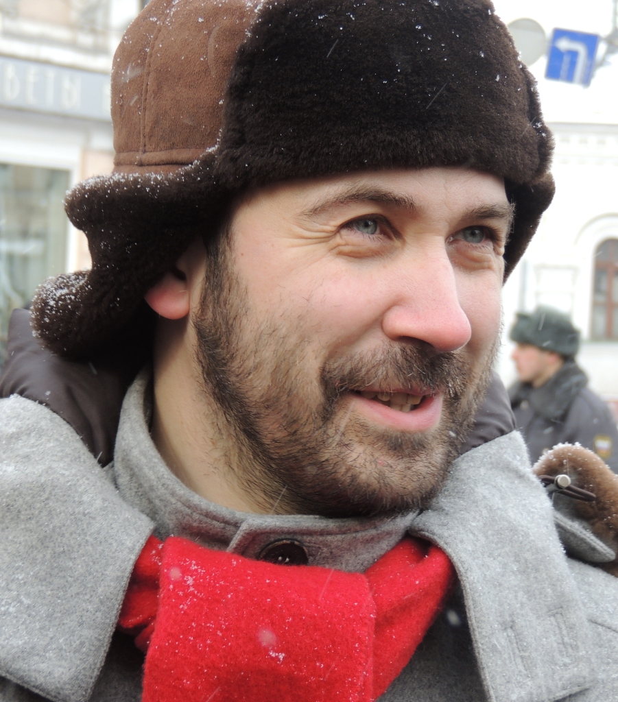 Ilya Ponomarev at a Moscow Opposition Rally on March 2, 2013 (Bogomolov.PL / Wikimedia Creative Commons).