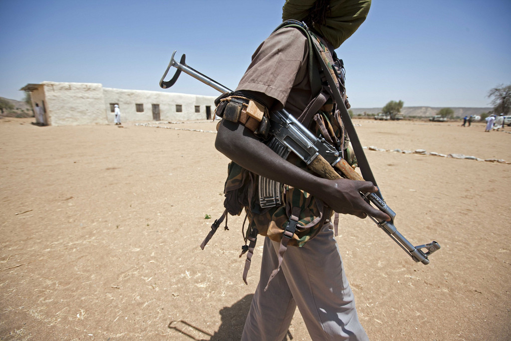 Caption: In West Darfur, ethnic groups have been fighting for water for over a decade. 2011. (UNAMID/Flickr)