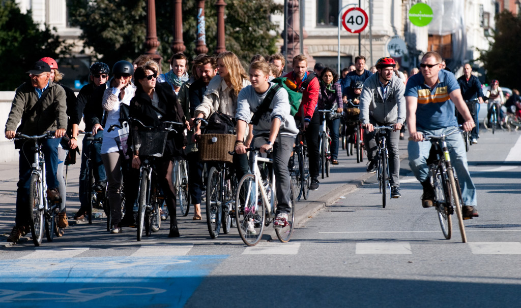 Copenhagen, Denmark is one of Europe's greenest cities with bikes outnumbering people, but it was not always like that. (Wikimedia Commons)