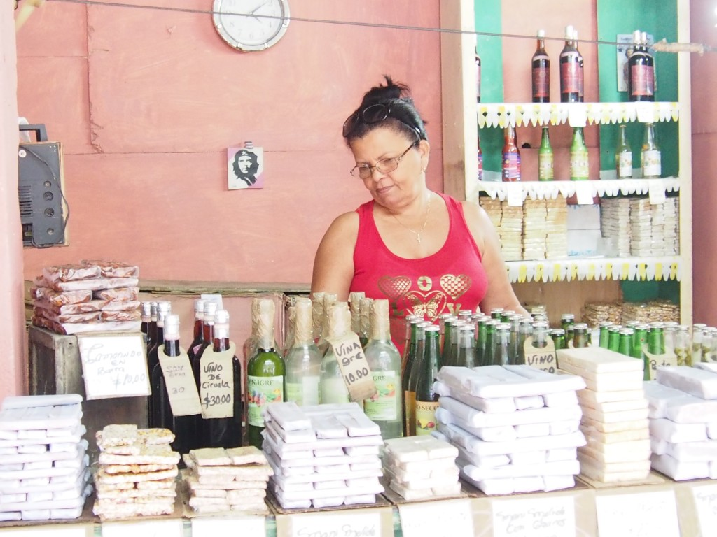 Working in cooperatives allow Cubans to produce and sell their own goods. (Alma Velazquez, March 2017)
