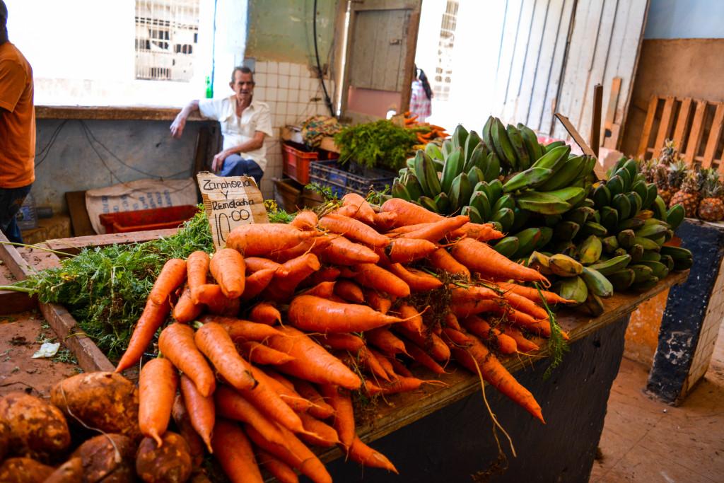 Farmer's market in Havana, Cuba.